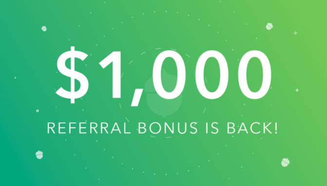 Acorns Investing App, Get $5 Signup Bonus Plus $1,060 With 12 Referrals This Month